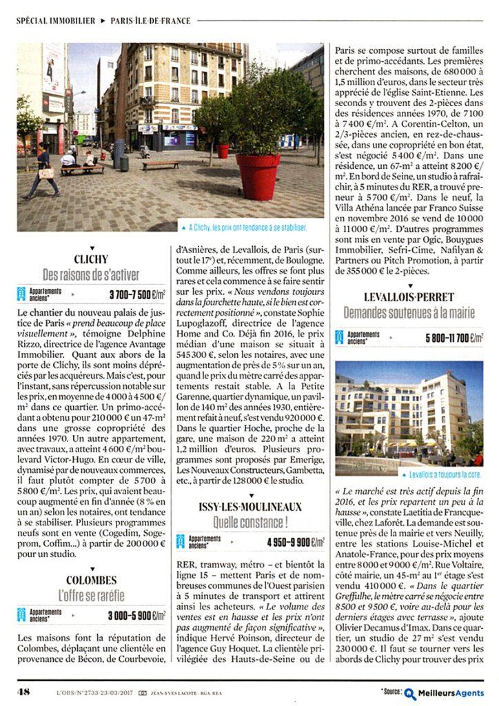 Immobilier achat vente maison appartement loft Colombes Asnières Courbevoie Bois-Colombes La Garenne