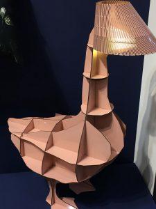 LUMINAIRE IBRIDE ROSE BUDE