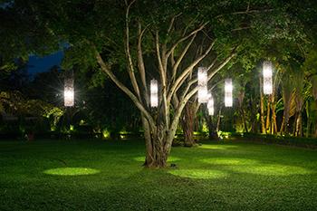 jardin maison appartement éclairage lumière Colombes Courbevoie Asnieres