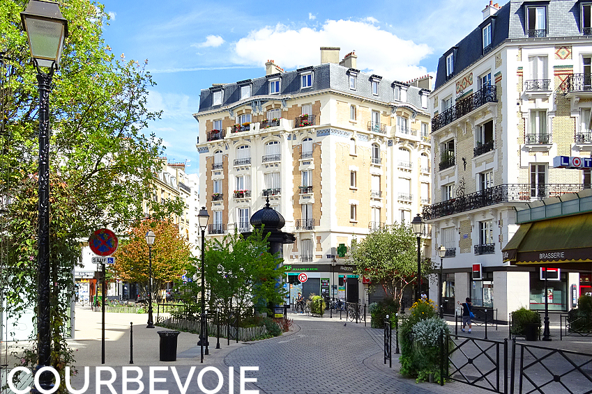 Maison appartement loft Commerce Restaurant Shopping Courbevoie Immobilier